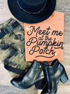 Meet Me At The Pumpkin Patch Tee