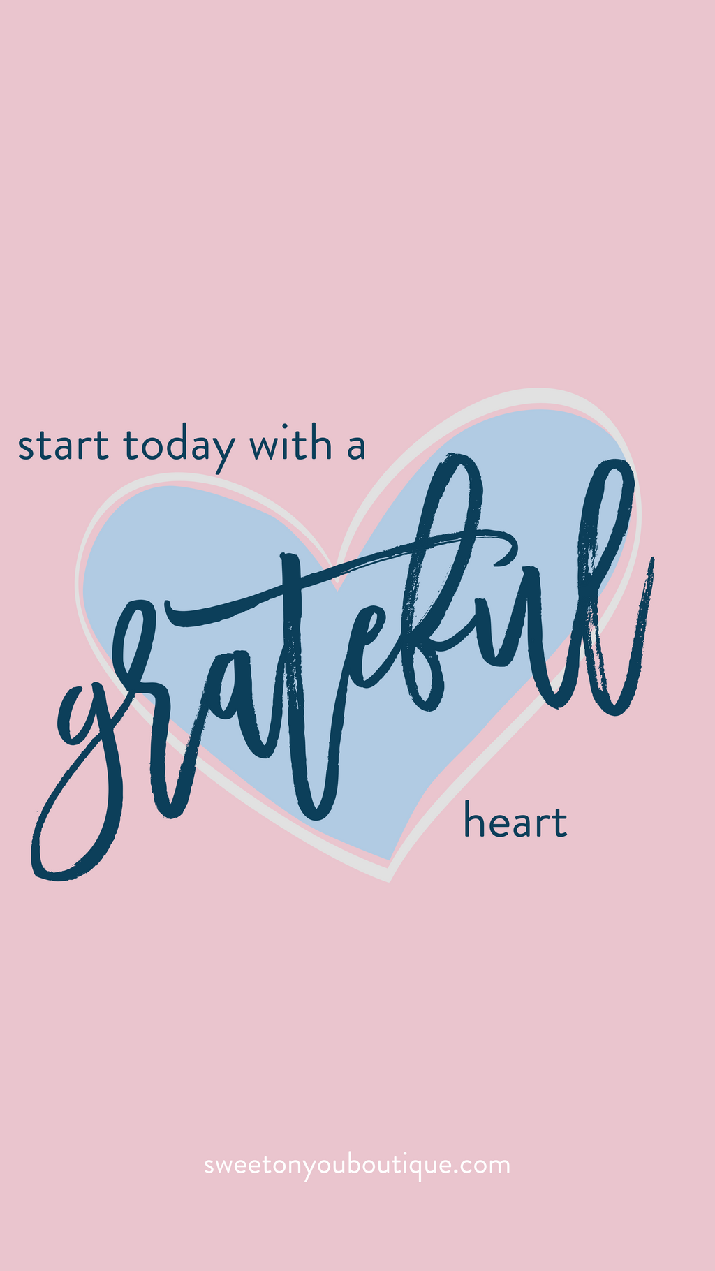 Start Today With A Grateful Heart