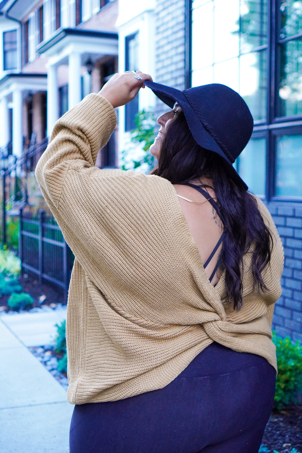 Caramel Macchiato Curves Sweater