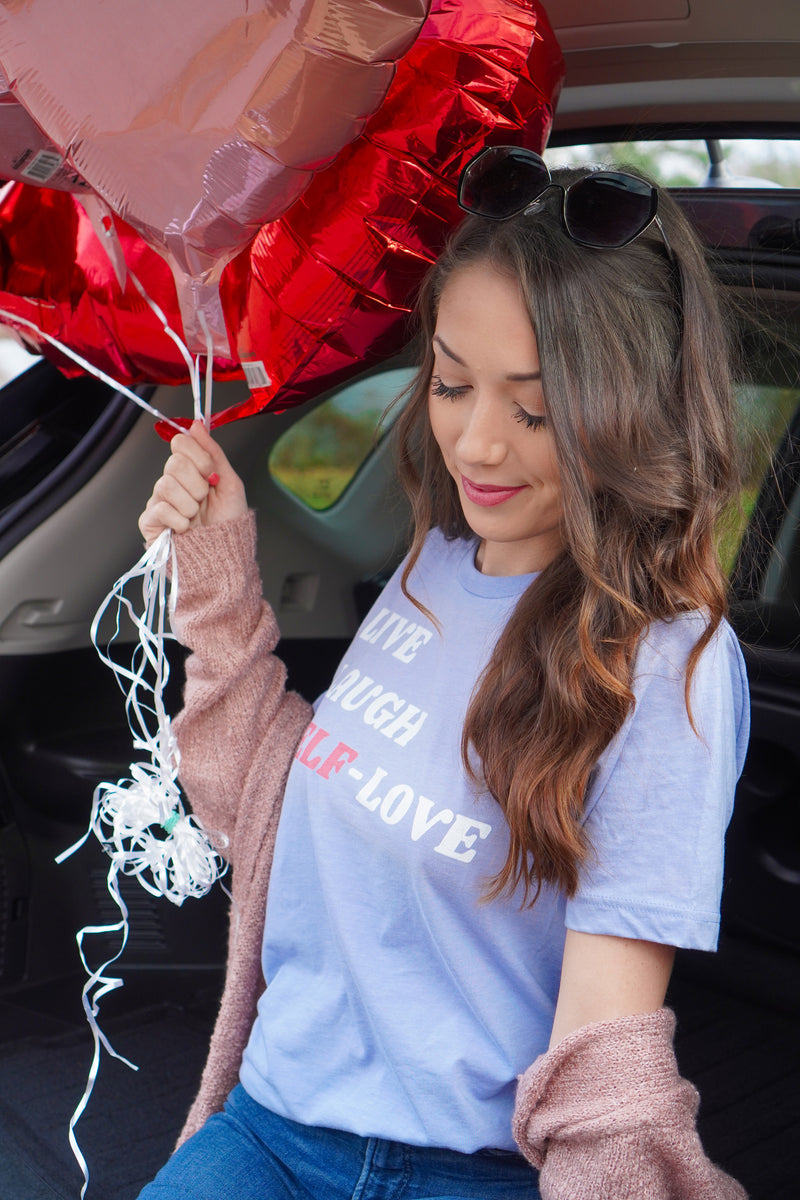 Live Laugh Self-Love Tee