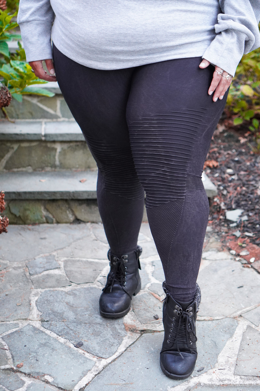 Vintage Biker Curves Leggings