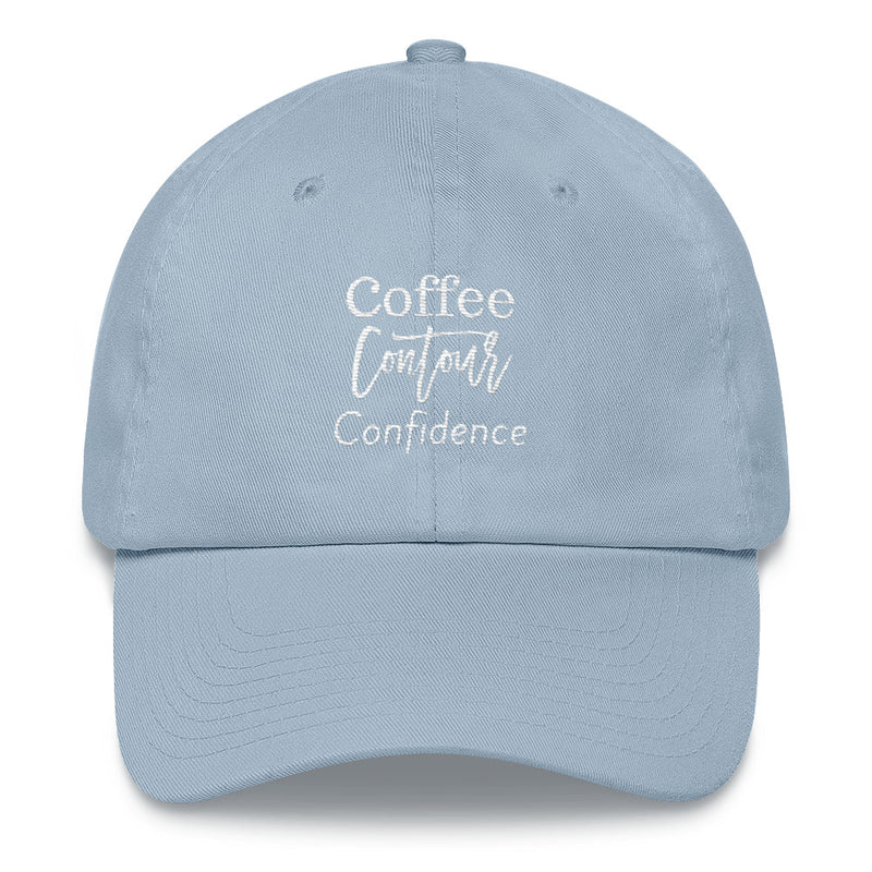 Coffee, Contour, & Confidence Hat