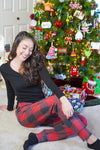 Christmas Buffalo Plaid Joggers