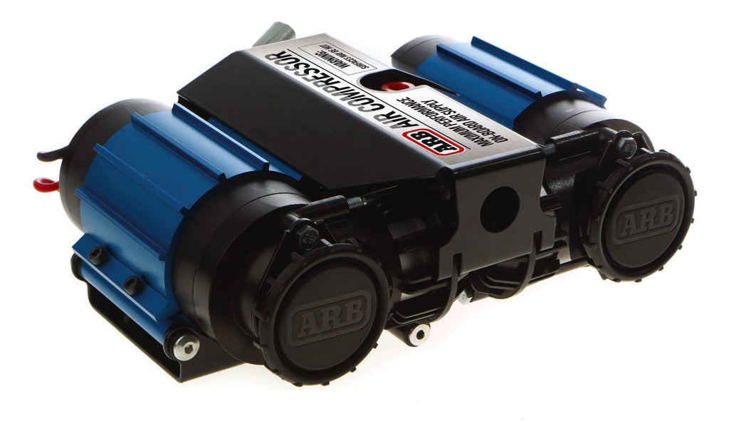 ARB HIGH PERFORMANCE TWIN ON-BOARD COMPRESSOR — 12V