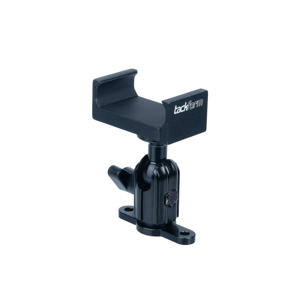 Tackform ENDURO SERIES™ LOW PROFILE DRILL BASE PHONE MOUNT | SHORT REACH ARM