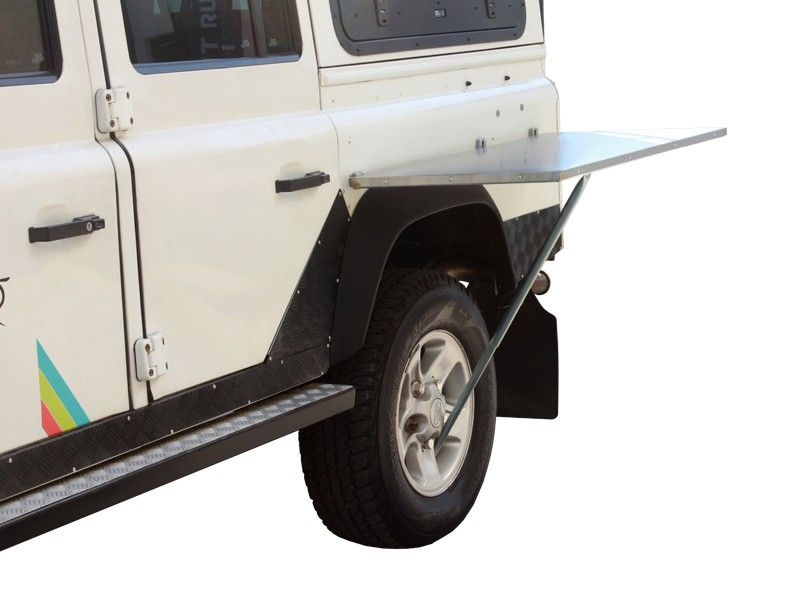 Stainless Steel Vehicle Side Mount Table - by Front Runner