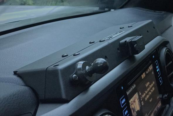 Expedition Essentials Toyota Tacoma 3rd Gen USB Powered Accessory Mount (3TPAM)
