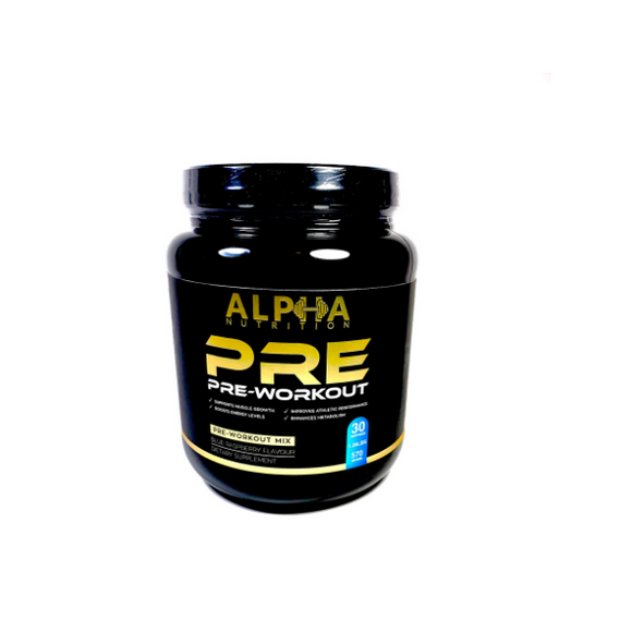 Alpha Nutrition Products Pre-Workout