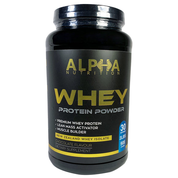 Alpha Whey Protein Chocolate