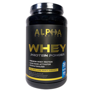 Alpha Whey Protein Powder Vanilla