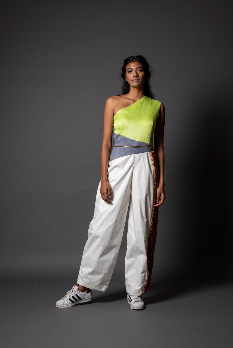 Kano Lime Jumpsuit