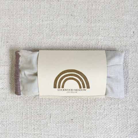 lockwood eye pillow