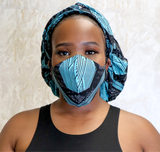 Blue Bonnet & Mask Combo