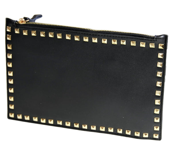 rectangle studded clutch bag curvaceous fashion bag
