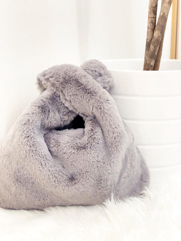 Faux fur bag  curvaceous fashion ltd autumn bag