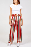 Paperbag Waist Palazzo Trouser