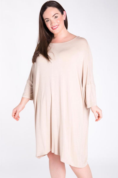 T-Shirt Tunic Dress  curvaceous fashion curvy tunic dress plus size dress cozy dress
