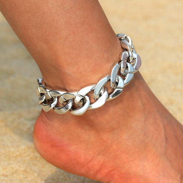 Chunky Linked Anklet