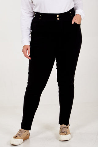 Curve Stretch Denim Trousers