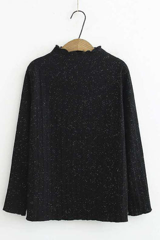Shimmery Knit Jumper