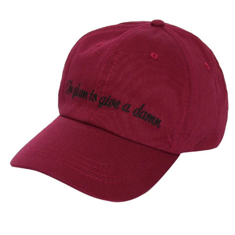 'To Glam' Slogan Cap
