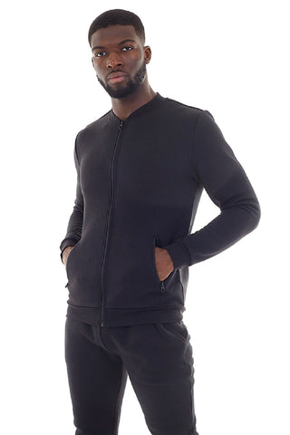 Zip Detail Slim Fit Tracksuit