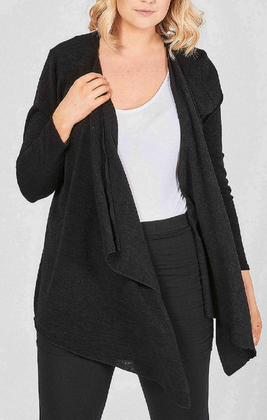 Black Front Fall Cardigan