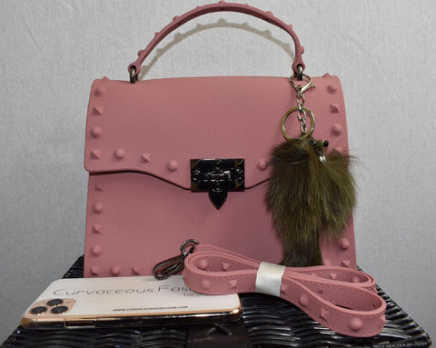 Dusty Rose Messenger Bag