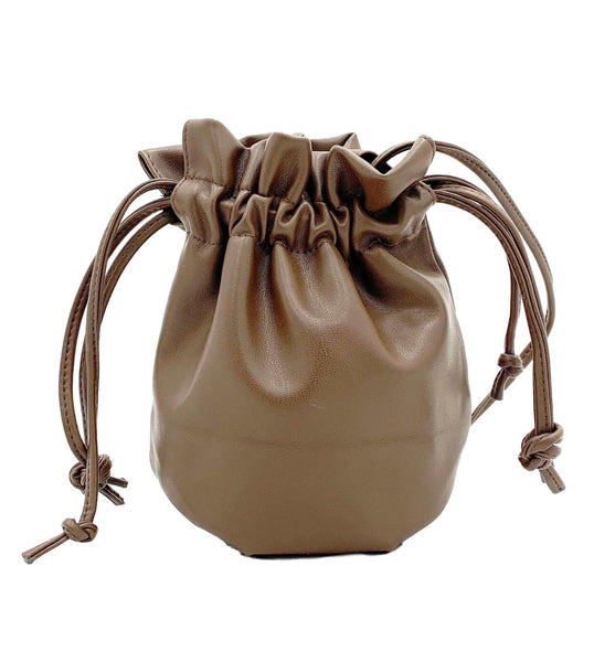 Small Drawstring Pouch nappa curvaceous fashion bags small bags