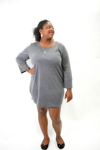 Skyla Long Sweater Dress