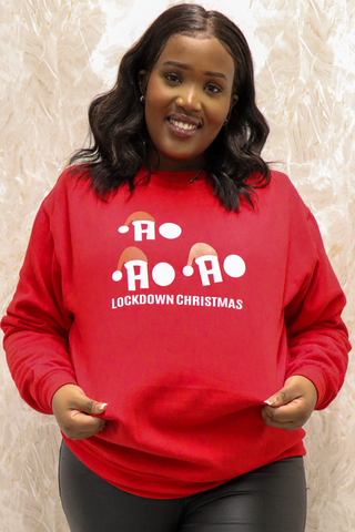 curvaceous fashion merry litmas jumper festive season