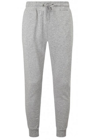 Heather Grey Fitted Joggers
