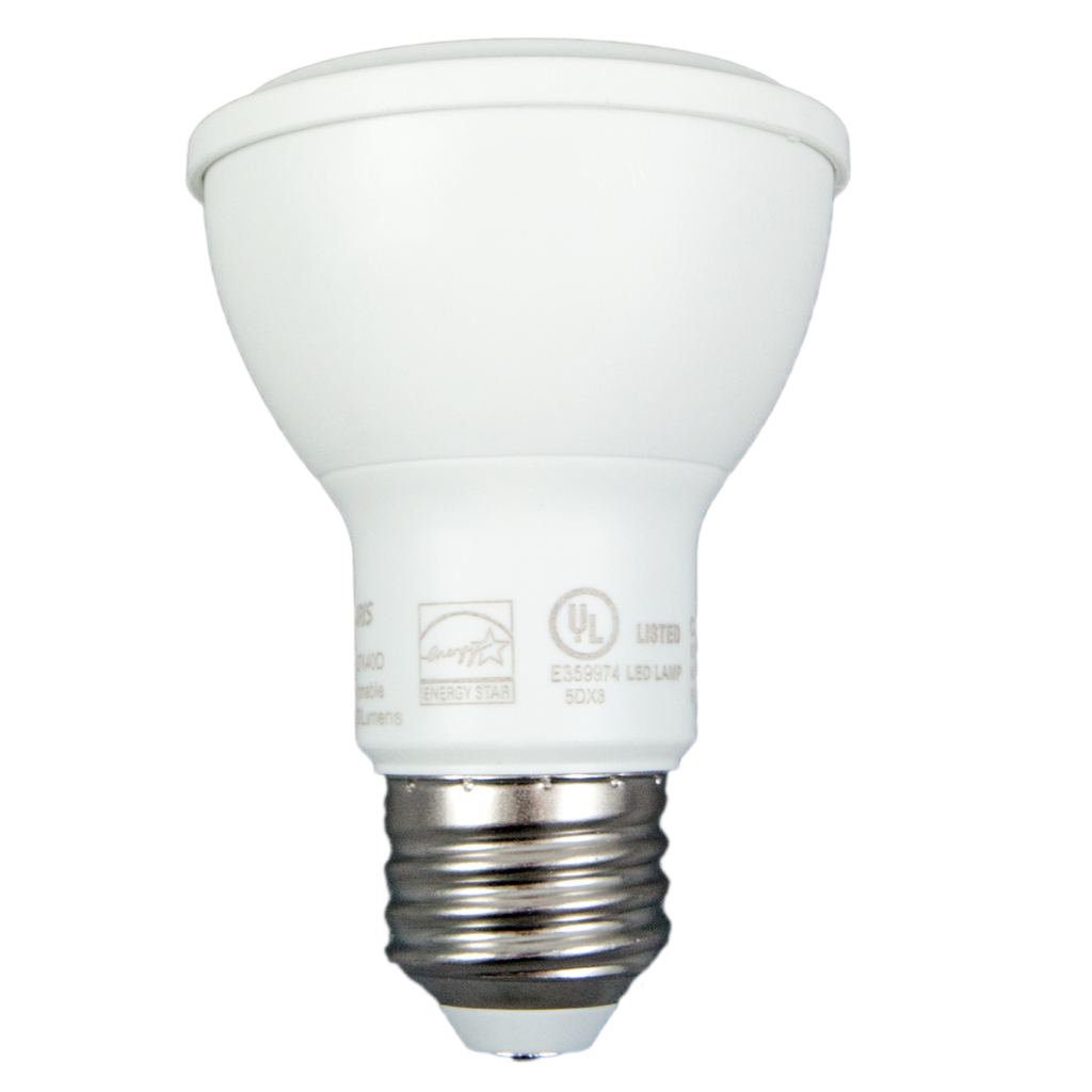 "50W Equivalent - 8 Watt ""Alpha"" Series PAR20 LED - Warm White - Dimmable- 50 Pack"