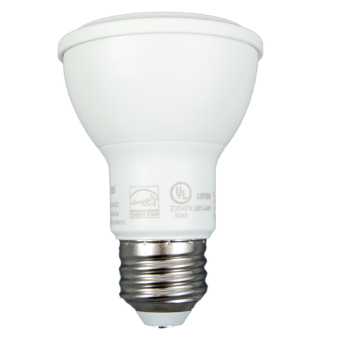 "50W Equivalent - 8 Watt ""Alpha"" Series PAR20 LED - Warm White - Dimmable"