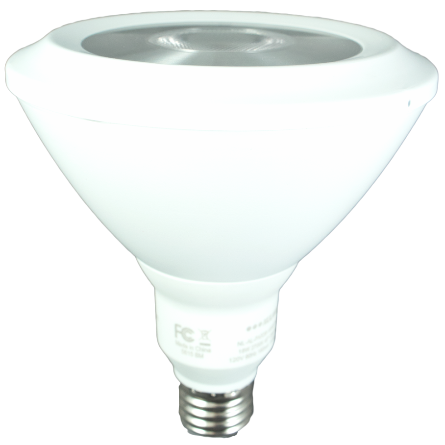 "120W Equivalent - 18 Watt ""Alpha Series"" PAR38 LED *Spotlight* Warm White - Dimmable!"