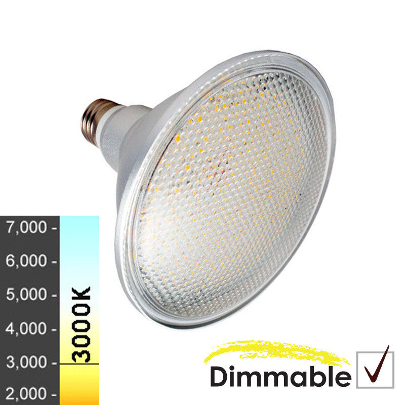 "75W Equivalent - 12W ""Classic Look"" Dimmable PAR38 LED Floodlight"