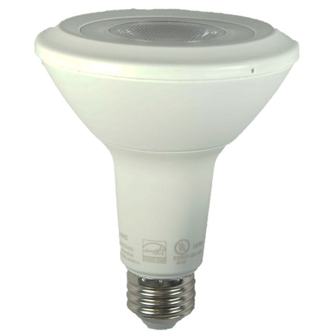 "75W Equivalent - 13W Watt ""Alpha Series"" PAR30 LED - Warm White Light - Dimmable"