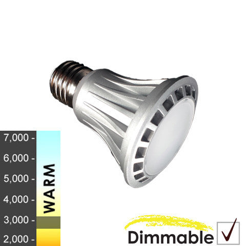 "40W Equivalent - 8 Watt ""Nova Series"" PAR20 LED - *Floodlight* - Warm White - Dimmable"