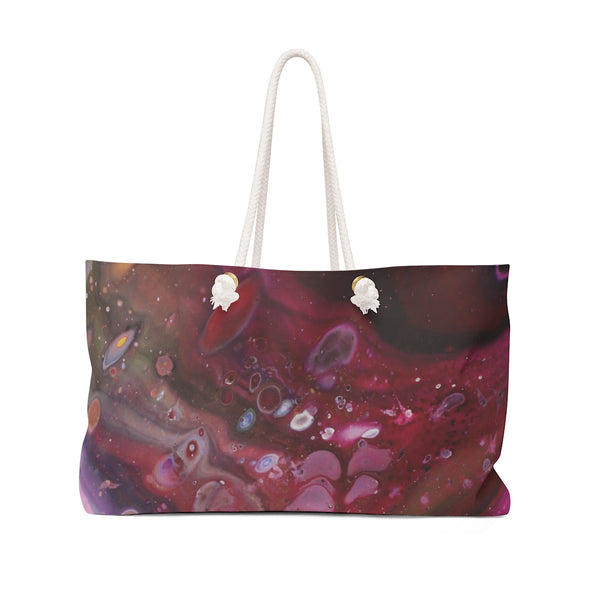 Cranberry Dreams Weekender Bag