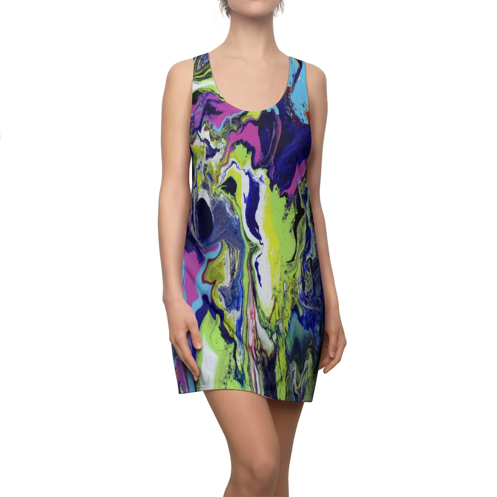 Explosive Colors Racerback Dress
