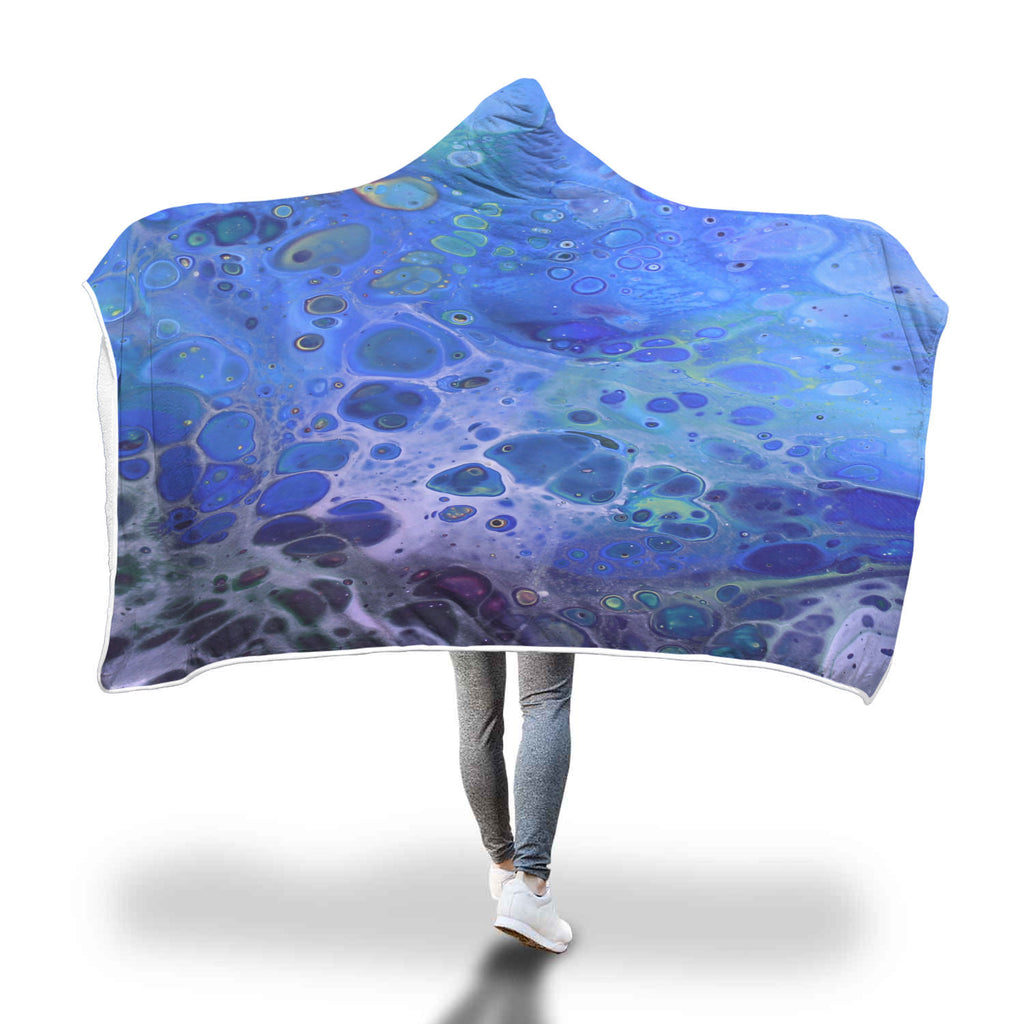 Mystic Waters Hooded Blanket