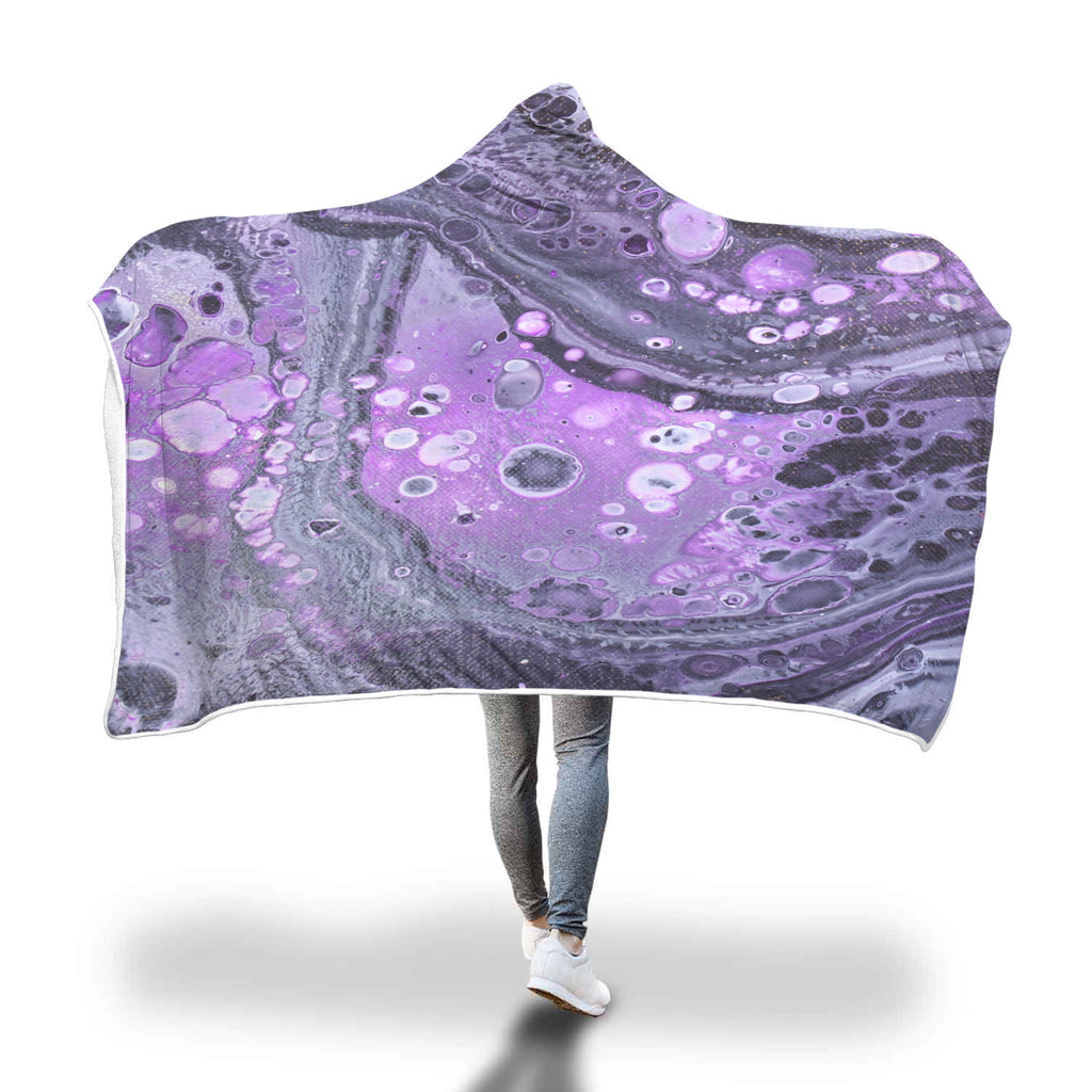 Purple Haze Hooded Blanket