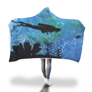 Divers Hooded Blanket