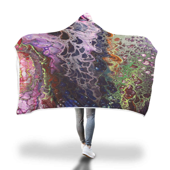 Purple Lust Hooded Blanket