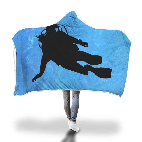 Scuba Hooded Blanket