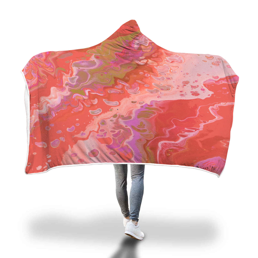 Dreamsicle Hooded Blanket