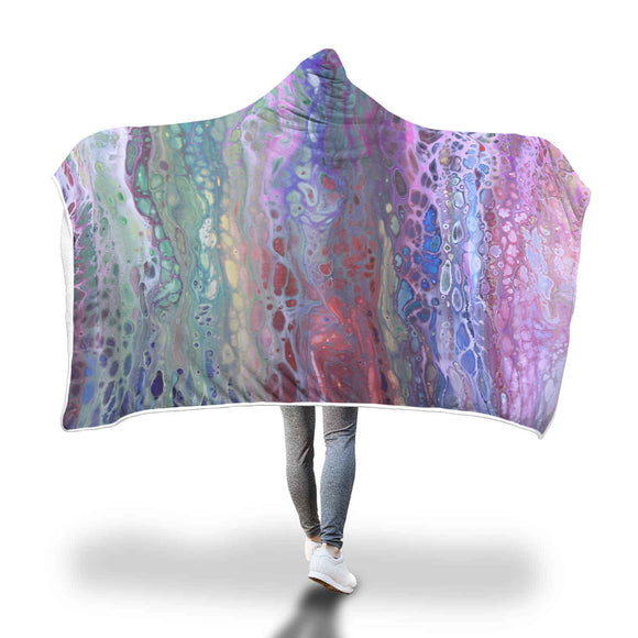 Abalone Hooded Blanket
