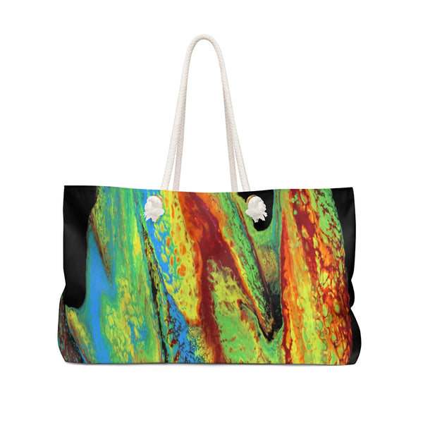 Rainbow Slide Weekender Bag