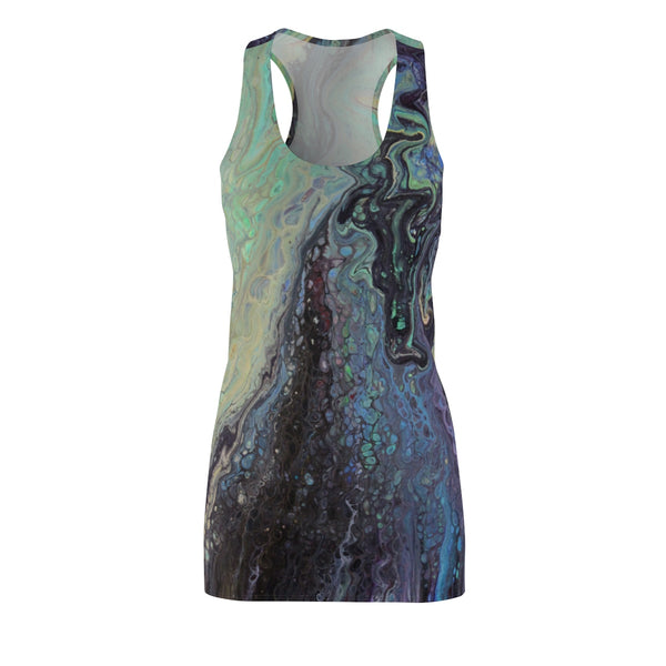 Galactic Swirl Racerback Dress