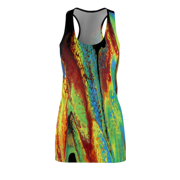 Rainbow Slide Racerback Dress